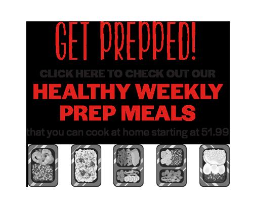 Get Prepped! - Healthy Weekly Prep Meals
