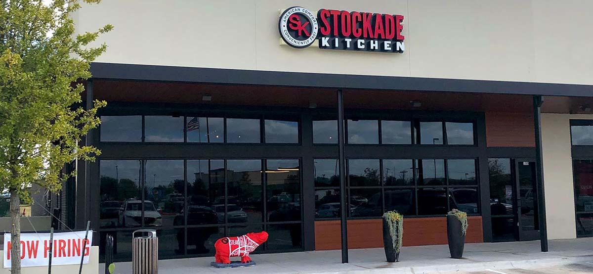 Stockade Kitchen Entrance